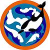 Векторный клипарт: Дельфин