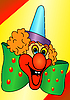 Vector clipart: Funny Clown