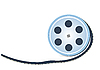 Vector clipart: small tape reel