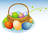Vector clipart: Easter basket
