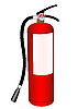 Vector clipart: Fire extinguisher