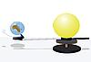 ID 3064231   Sun and earth model   向量插图   CLIPARTO