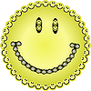 Vector clipart: Big smile