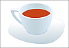 Vector clipart: Tea cup