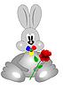 Vector clipart: Rabbit babe