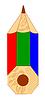 Vector clipart: Crayon