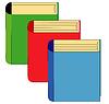 Vector clipart: Three books