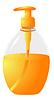 Vector clipart: Liquid Soap