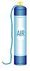 Vector clipart: Oxygen cylinder