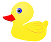 Vector clipart: Duckling