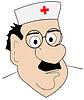Vector clipart: Doctor