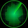Экран радара с силуэтом Германии