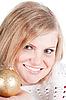 Фото 300 DPI: Портрет красивой женщины