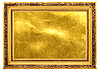 Gold old frame with gold background | Stock Foto