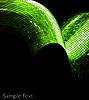 Vector clipart: green geometric tech background