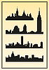 City skylines | Stock Vector Graphics
