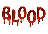 Vector clipart: Inscription blood