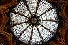 Beautiful ceiling in Galleries Lafayette in Paris | Stock Foto