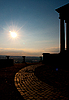 ID 3039864 | Sunset over the Württemberg mausoleum | High resolution stock photo | CLIPARTO
