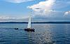 Yacht sailing | Stock Foto