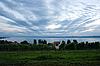 Photo 300 DPI: Meersburg vineyards at the northern banks of Lake Constance
