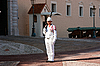 Monaco palace guard standing | Stock Foto