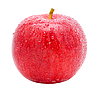 ID 3058186 | Dojrzałe czerwone jabłko z kropli wody | Foto stockowe wysokiej rozdzielczości | KLIPARTO