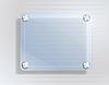 Vector clipart: glass frame