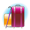 Vector clipart: luggage