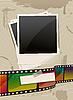 Vector clipart: photo template