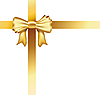 Vector clipart: gold ribbon