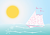 Vector clipart: Sails of love