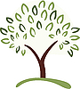 Vector clipart: tree symbol