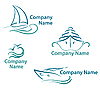 Yachting logo | Stock Vector Graphics