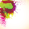Vector clipart: abstract colorful blots