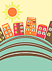 Vector clipart: city buildings