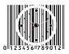Vector clipart: clock as barcode