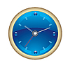 Vector clipart: clock