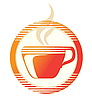 Vector clipart: hot cup icon