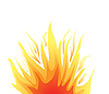 Vector clipart: fire