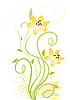 Yellow flowers | Stock Vector Graphics
