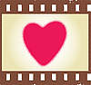 Vector clipart: romantic shot
