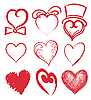 Hearts | Stock Vector Graphics