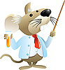 ID 3074653 | Mysz jako nauczyciel chemii | Klipart wektorowy | KLIPARTO