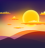 Sunset | Stock Vector Graphics