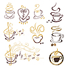 Vector clipart: set of coffee cup symbols