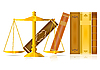 Vector clipart: justice concept