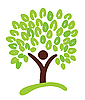 Vector clipart: tree as symbol