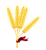 Vector clipart: wheat ears