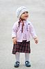 행복 한 작은 소녀 | Stock Foto